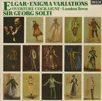 Solti, CSO, LPO - Elgar: Enigma Variations etc.