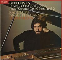 Lupu, Mehta, Israel Philharmonic Orchestra - Beethoven: Concerto for Piano and Orchestra No. 4 etc.