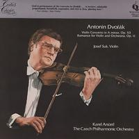 Suk, Ancerl, The Czech Philharmonic Orchestra - Dvorak: Violin Concerto in A minor etc.