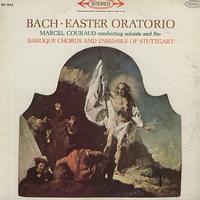 Couraud, Baroque Chorus and Ensemble of Stuttgart - Bach: Easter Oratorio