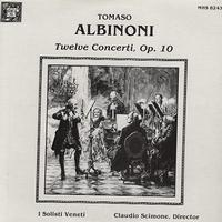 Scimone, I Solisti Veneti - Albinoni: Twelve Concerti