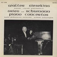 Gieseking, Galleria, Philharmonia Orchestra - Grieg and Schumann Piano Concertos