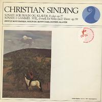 Ornulf Boye Hansen and Benny Dahl-Hansen - Sinding: Sonata for Violin and Piano etc.