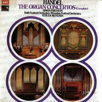 Simon Preston, Yehudi Menuhin, Bath Festival Orchestra, Menuhin Festival Orchestra - Handel: The Organ Concertos