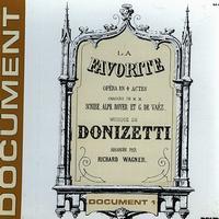 Lapeyrette, Ruhlmann, L'Orchestre de l'Opera - Donizetti: La Favorite