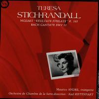 Teresa Stich-Randall - Mozart:Exultate Jubilate etc.