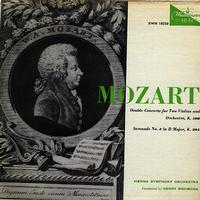Swoboda, Vienna Symphony Orchestra - Mozart: Double Concerto for Two Violins and Orchestra etc.