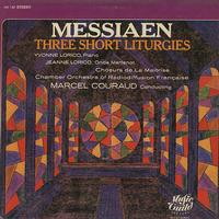 Loriod, Couraud, Chamber Orchestra of Radiodiffusion Francaise - Messiaen: Three Short Liturgies
