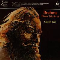 Odeon Trio - Brahms: Piano Trio In A
