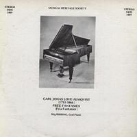 Stig Ribbing - Almqvist: Free Fantasies -  Preowned Vinyl Record