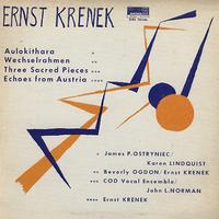 James P. Ostryniec and Karen Lindquist - Krenek: Aulokithara etc.