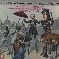 Larrieu, Ensemble Instrumental de France - Vivaldi: 6 Flute Concertos