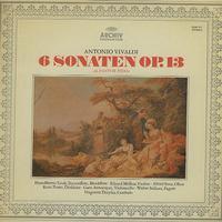 Linde, Melkus, Sous etc. - Vivaldi: 6 Sonaten Op. 13
