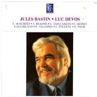 Jules Bastin and Luc Devos - Schubert, Brahms, Saint-Saens etc.