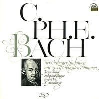 Munclinger, Ars Rediviva Chamber Orchestra - CPE Bach: Sinfonia Nos. 1-4