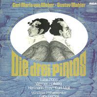 Popp, Bertini, Munich Philharmonic Orchestra - von Weber, Mahler: Die Drei Pintos