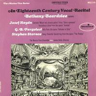 Bethany Beardslee, The Musica Viva Ensemble - An Eighteenth Century Vocal Recital