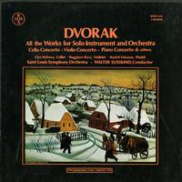 Susskind, Saint Louis Symphony Orchestra - Dvorak: All the Works for Solo Instrument and Orchestra