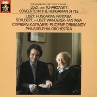 Katsaris, Ormandy, The Philadelphia Orchestra - Liszt: Hungarian Fantasia etc.