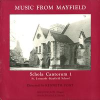 Schola Cantorum 1 - Music from Mayfield