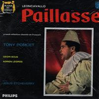 Poncet, Etcheverry, Grand Orchestre Symphonique - Leoncavallo: Paillasse