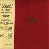 Petrov, Nebolsin, USSR Radio Chorus and Orchestra - Rimsky-Korsakov: Kitezh