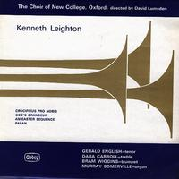 Lumsden, The Choir of New College, Oxford - Leighton: Crucifixus Pro Nobis etc.