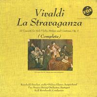 Barchet, Reinhardt, Pro Musica String Orcherstra, Stuttgart - Vivaldi: La Stravaganza