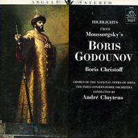 Christoff, Cluytens, Paris Conservatoire Orchestra - Moussorgsky: Boris Godounov - Highlights