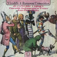 Laroque, Wallez, Ensemble Instrumental de France - Vivaldi: 4 Bassoon Concertos