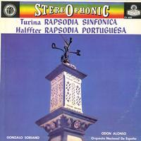 Soriano, Alonso, Orquesta Nacional de Espana - Turina: Rapsodia Sinfonica etc.