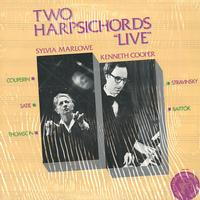 Sylvia Marlowe and Kenneth Cooper - Two Harpsichords Live