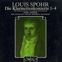 Leister, Fruhbeck de Burgos, Stuttgart Radio Symphony Orchestra - Spohr: The Clarinet Concertos