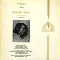 Wladyslaw Szpilman, Tadeusz Wronski, Aleksander Ciechanski - Chopin: Trio in G minor etc.