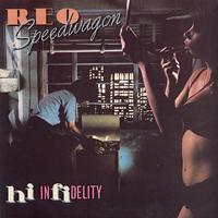 REO Speedwagon - Hi Infidelity -  Vinyl LP with Damaged Cover