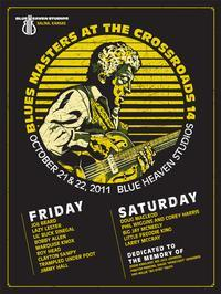 Blue Heaven Studios - Blues Masters at the Crossroads 14 (2011)  Poster