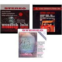 Antal Dorati - Alban Berg: Suites from Wozzeck and Lulu/ Gunther Schuller: Seven Studies on Themes of Paul/ Berg: Vienna 1908-1914 -  Preowned Vinyl Box Sets