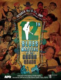 Blue Heaven Studios - Blues Masters at the Crossroads 12 (2009)  Poster