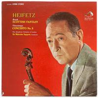 Sir Malcolm Sargent - Bruch: Scottish Fantasy/ Vieuxtemps: Concerto No. 5/ Heifetz, violin