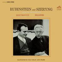 Beethoven: Sonatas No. 8, Op. 30, No. 3 / Brahms: No. 1, Op. 78 / Rubinstein and Szeryng