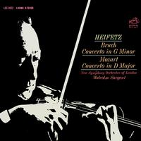 Heifetz-Sargent - Bruch: Concerto in G Minor/Mozart: Concerto in D Majo