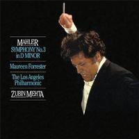 Mahler: Symphony No. 3 In D Minor/ Forrester / Zubin Mehta