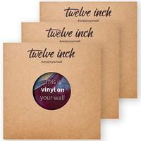 Twelve Inch - Original Invisible Display Bracket for Vinyl Records -  Accessories