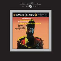 Fritz Reiner - Prokofiev: Lieutenant Kije/ Stravinsky: Song of the Nightingale -  1/4 Inch - 15 IPS Tape