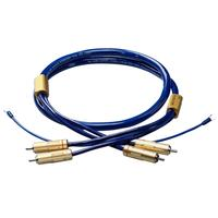 Ortofon - 6NX-TSW1010R High purity (6N) copper tonearm cable RCA-to-RCA -  Phono Cables