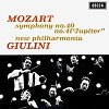 Giulini - Mozart: Symphony No. 40 & 41 -  180 Gram Vinyl Record