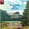 Paavo Berglund - Sibelius: Violin Concerto/ Ida Haendel Plays Sibelius -  180 Gram Vinyl Record