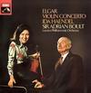 Ida Haendel and Sir Adrian Boult - Elgar: Violin Concerto -  180 Gram Vinyl Record