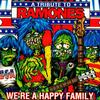 Various Artists - A Tribute To Ramones: We're A Happy Family -  45 RPM Vinyl Record