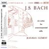 Jean-Max Clement - Bach: Six Suites For Unaccompanied Cello -  180 Gram Vinyl Record